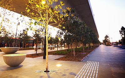 Sydney Metro Northwest landscaping