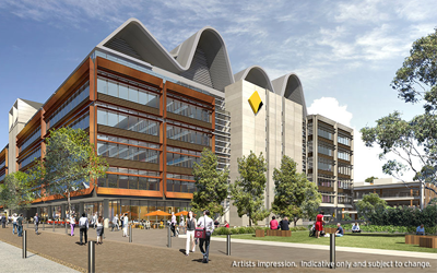 Landscaping the future at Australian Technology Park