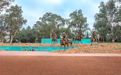 Landscaping Our History At The National Boer War Memorial
