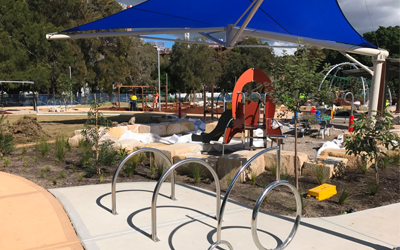 Upgrading Cahill Park Playground on the Cooks River