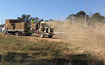 New Dryland Grassing service – a cut above the rest