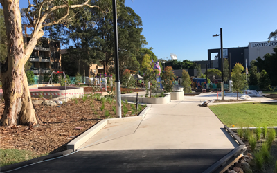 Elouera Reserve – ready for fun and games