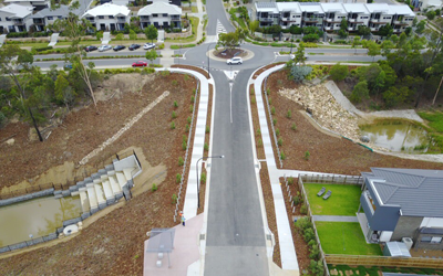 Stunning Streetscapes at Springfield Lakes