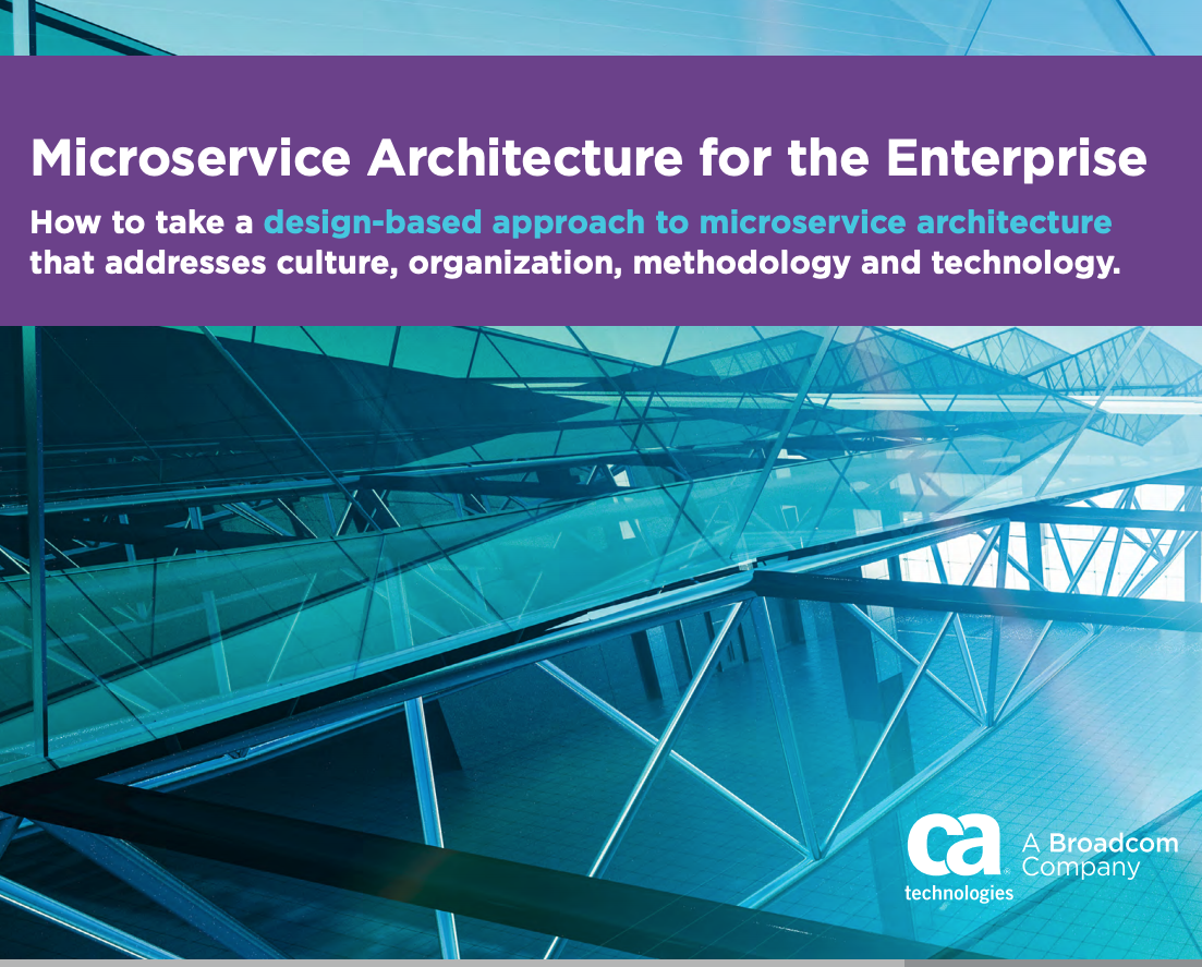 Microservice Architecture for the Enterprise - Free API books from the API Academy