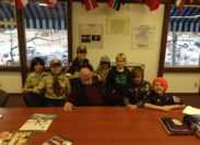 Tahoe City Cub Pack 264 visits the Museum!