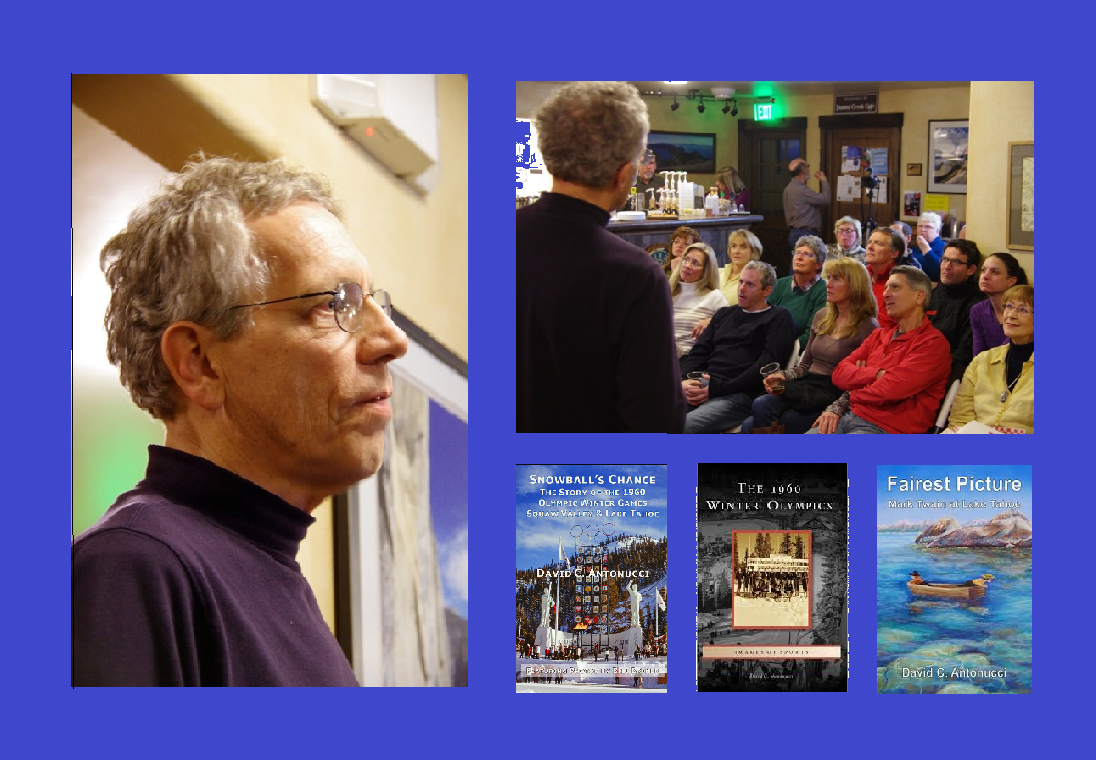 Museum Co~Founder David C. Antonucci gives another great 1960 Winter Olympic talk!