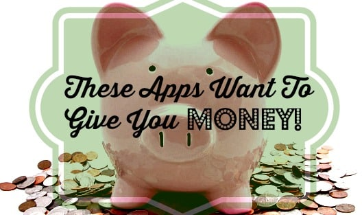 """Piggy Bank with the words """"These Apps Want to Give You Money"""""""