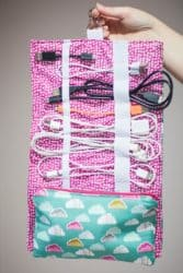 image of diy crafts to sell for extra money, plug organizer