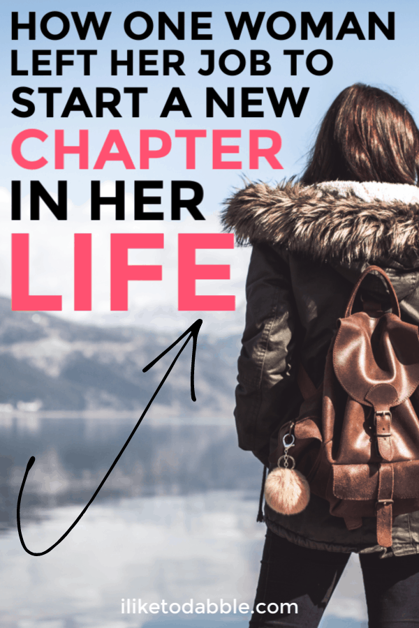 Entrepreneur Stories: How one woman left her job to start a new chapter in her life. Read Laura's story about how she started her own business Every Day by the Lake. Image of women in coat facing lake and mountains. #entrepreneur #entrepreneurlife #entrepreneurstories