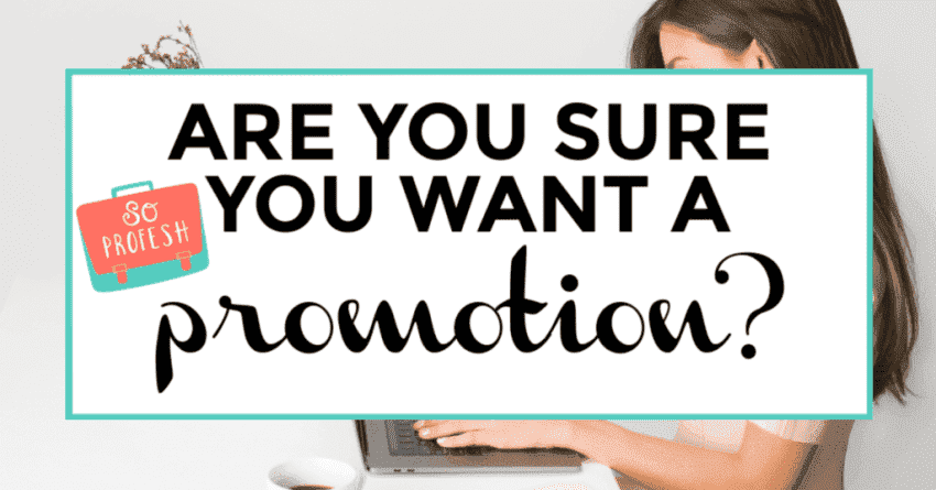 promotion. featured image of woman in laptop in background.
