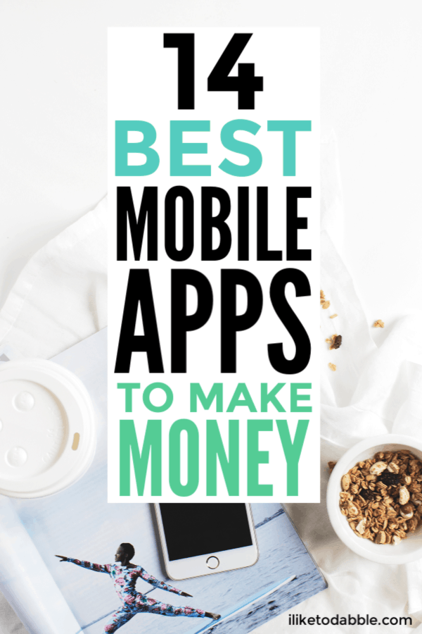 14 best apps to make money when you're strapped for cash. From Rover to Sweatcoin and others, you can make a few quick bucks on the go. Image of oatmeal, mobile, and coffee cup on desk.  #makemoney #sidehustle #appstomakemoney #moneymakingapps #sidehustleapps #sidehustles #sidehustleideas #makingmoney #moneyapps