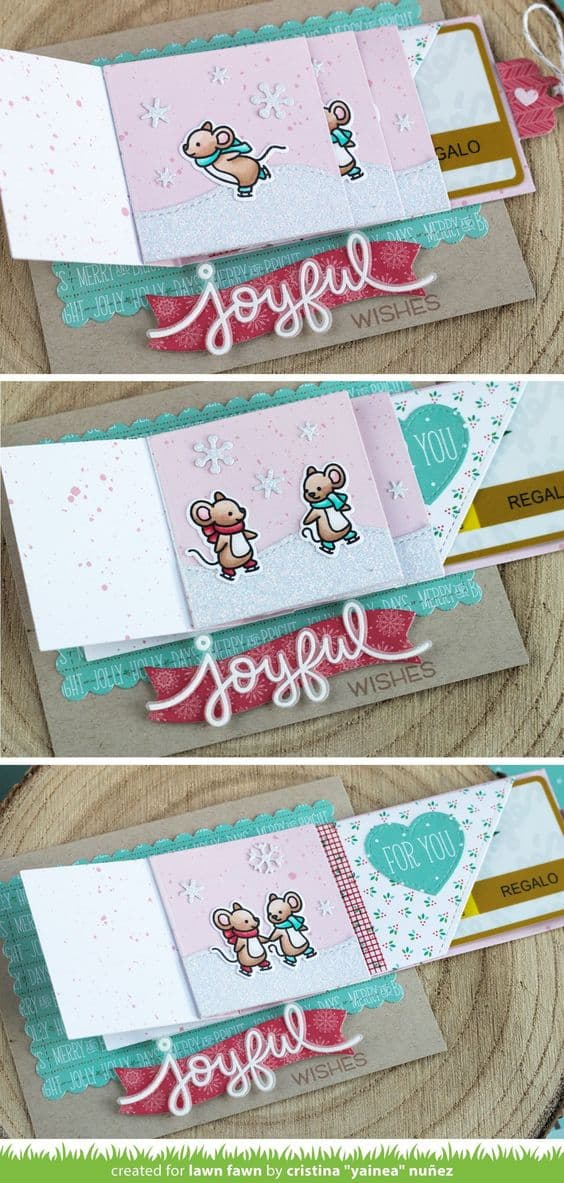 pop out gift card