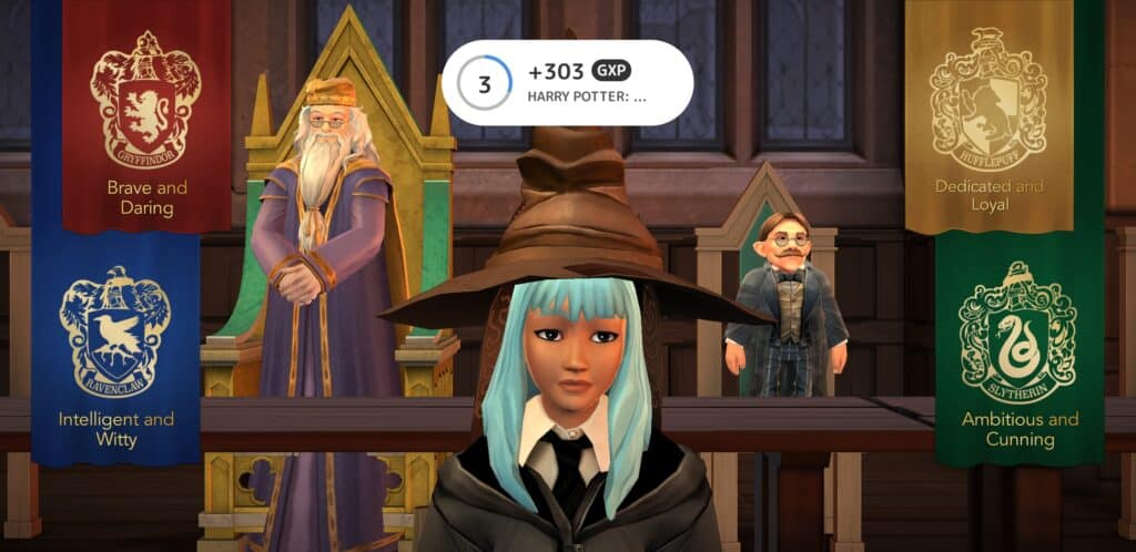 Mistplay review - screenshot from harry potter game