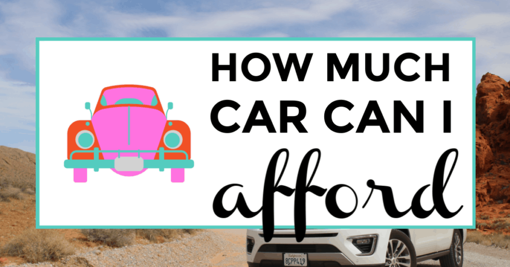 how much car can i afford. featured image of vehicle on road.