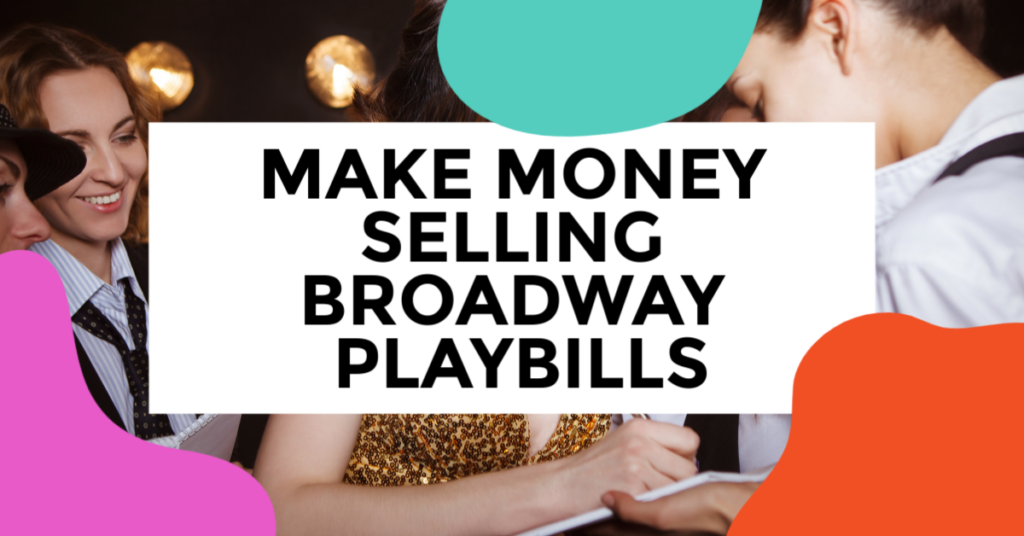sell broadway playbills online. featured image of a group of friends.