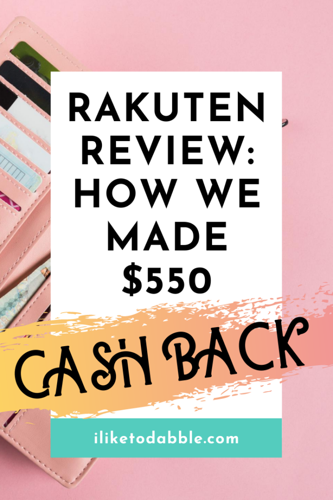 Is Rakuten a legit app where you can make money? You can get cash back and save money on shopping, but it won't replace a job. Image of wallet with credit cards in the wallet. #rakuten #cashback #shopping #savemoney