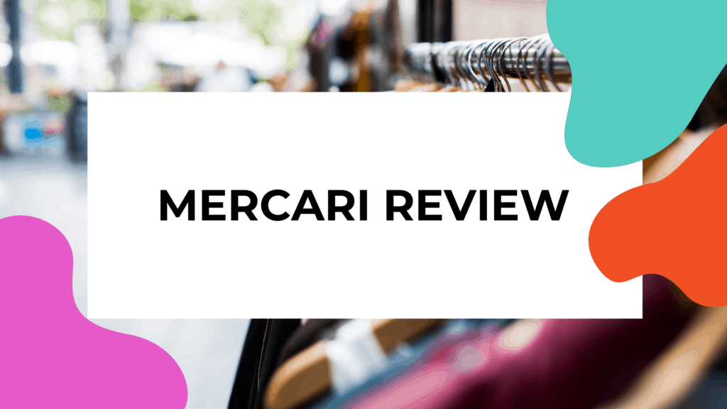 mercari review featured image of clothes on rack