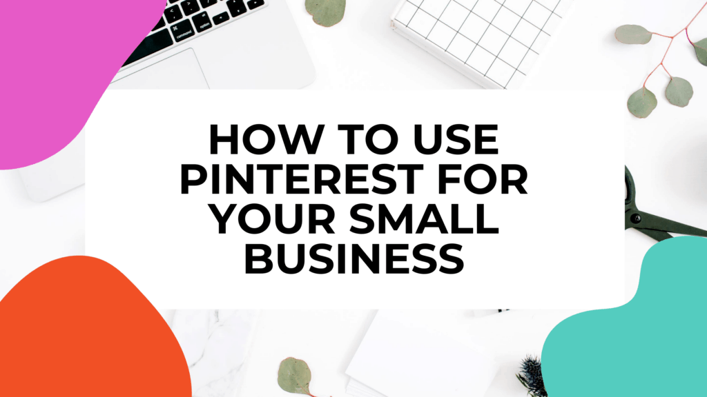 pinterest for business featured image with two keyboards in background