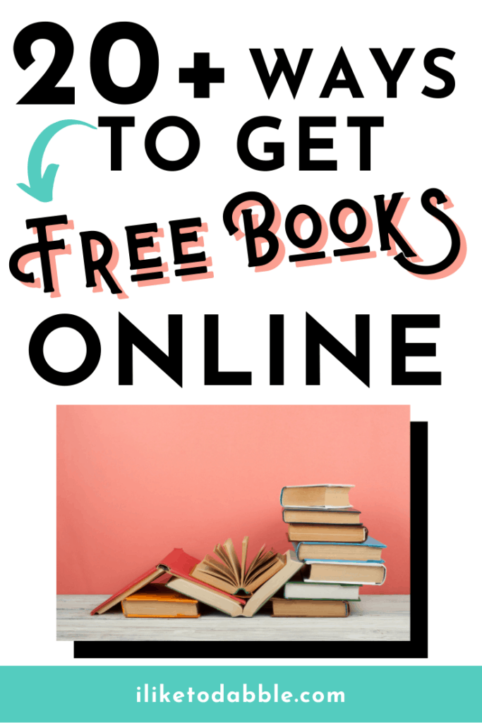 vertical image with title text and books against a pink background