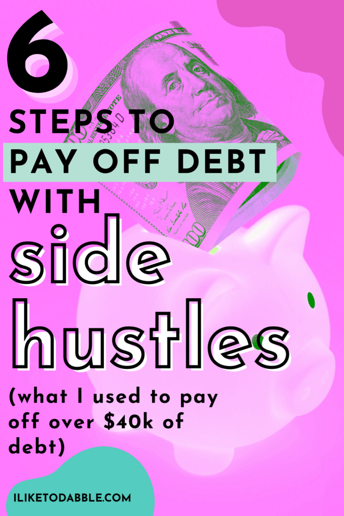 tips to pay off debt pinnable image