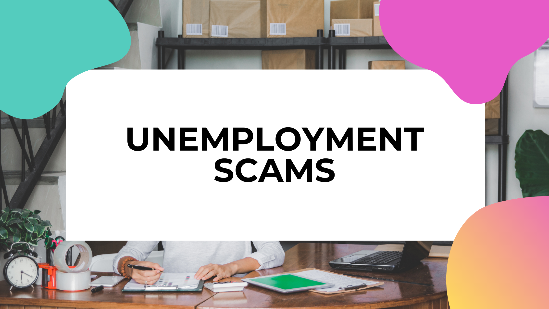 unemployment scams featured image
