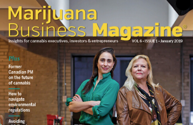 Marijuana Business Magazine's Women to Watch in 2019