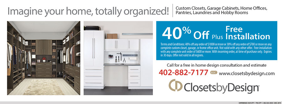 Closets By Design Coupon Experience Our City