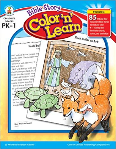 Bible Story Color 'n' Learn