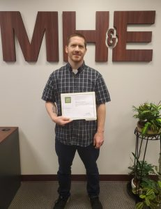 Anthony Calvo attained his LEED Green Associate credential