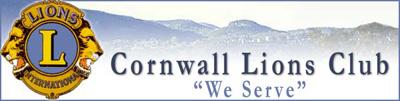 Cornwall Lions Club - We Serve