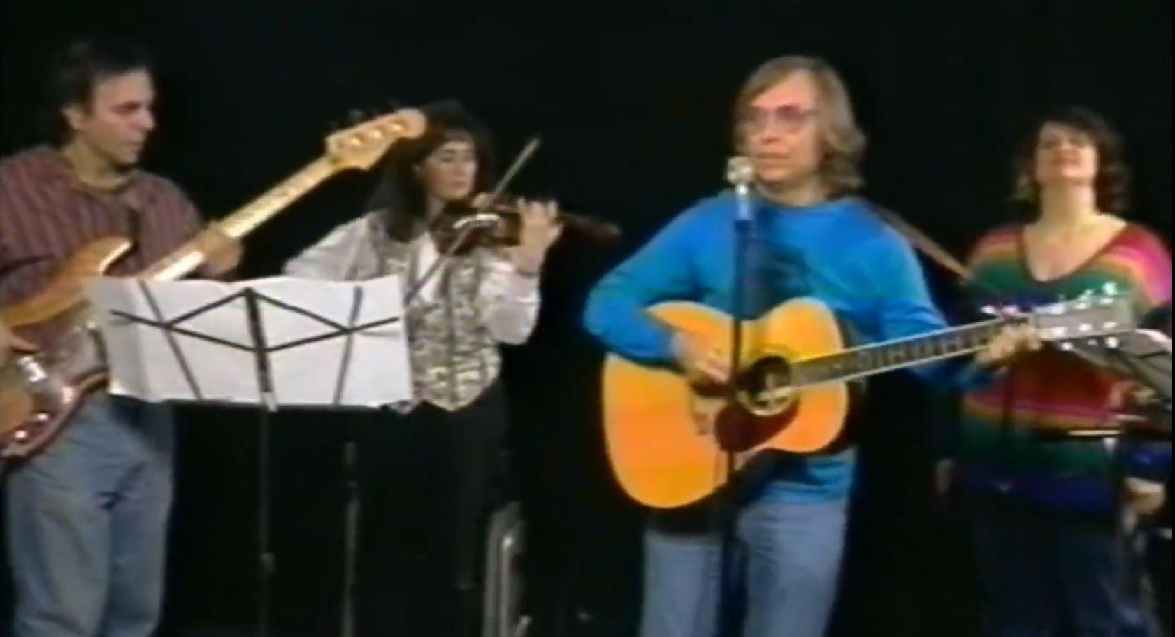 ray korona band on stage