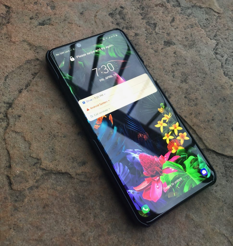 Phone LG G8 ThinQ - smartphones