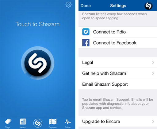 Shazam Encore Cracked APK