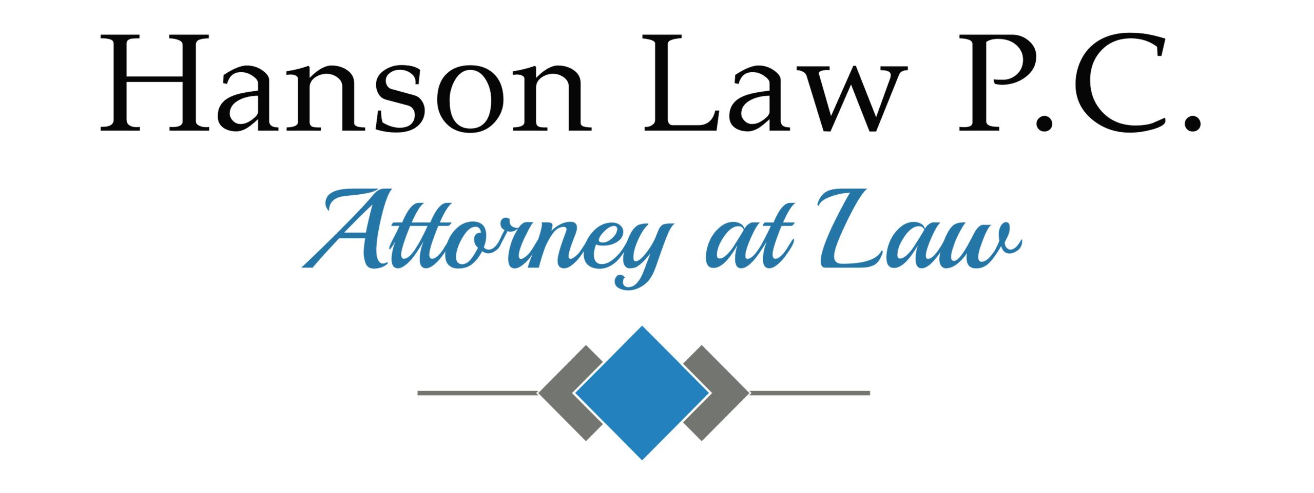HANSON LAW P.C.