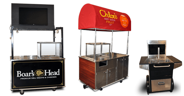 mobile food cart and concession cart repairs and refurbishing services