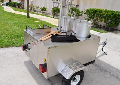 boiled peanut cart