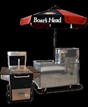 boars head concession carts