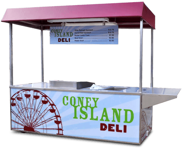 custom concession carts