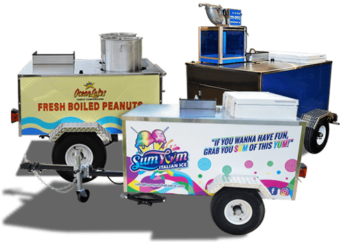 specialty top dog carts