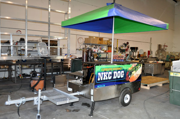 top dog cart construction