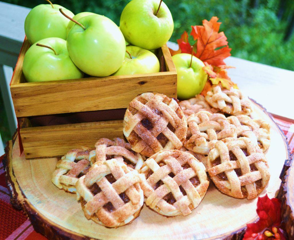 Caramel Apple Walnut Cookies
