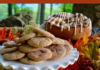 Snickerdoodle Cookies & Cinnamon Walnut Swirl Rolls-lizbushong.com