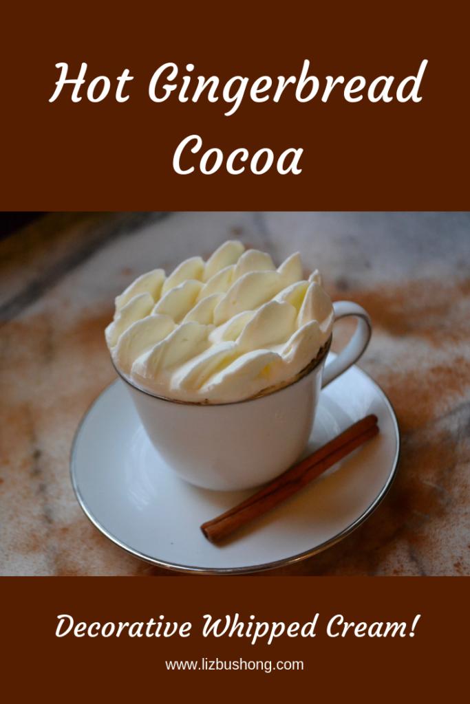 Gingerbread Hot Cocoa Recipe-lizbushong.com