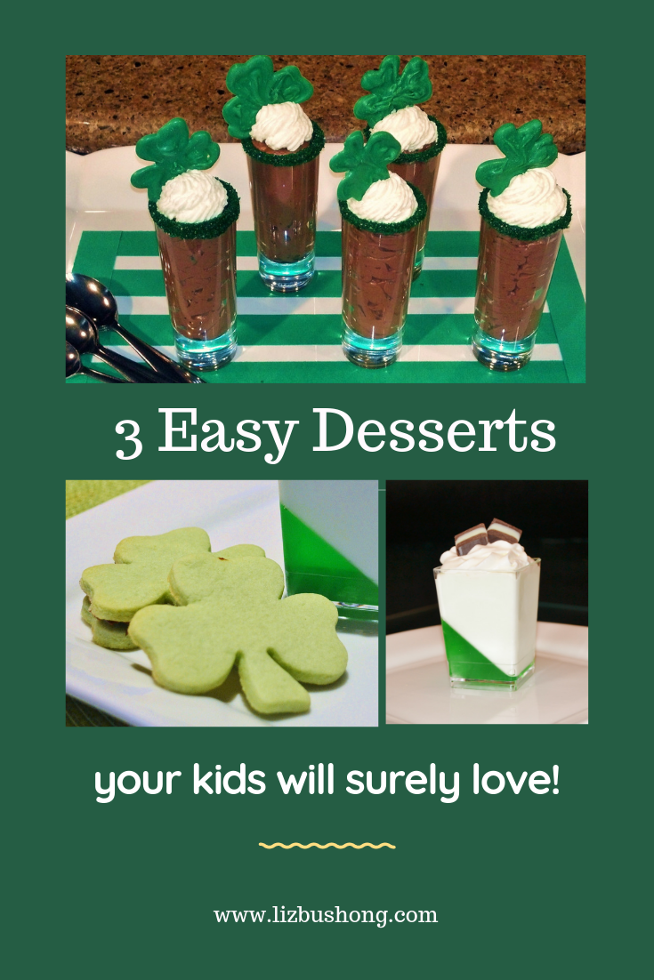 3 Easy Desserts- kids will love-lizbushong.com
