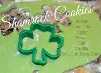 Shamrock Butter Cookies