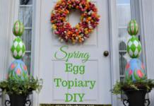 DIY Egg Topiary lizbushong.com
