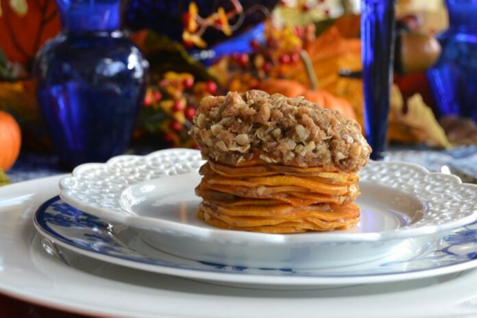 Stacked Sweet Potato Recipe lizbushong.com