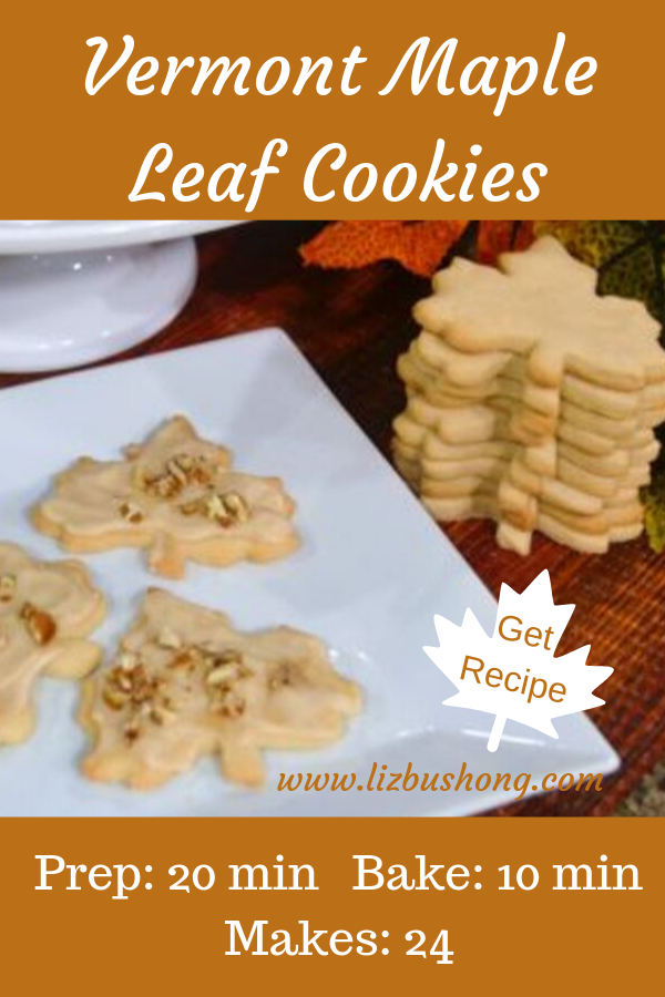Vermont Maple Cookie Recipe lizbushong.com