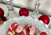 Candy Cane Sugar Cookies Lizbushong.com