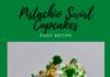 Pistachio Swirl Cupcakes